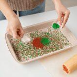 mieszanie barwników spożywczych